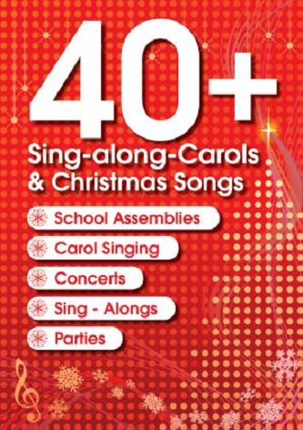 40+ Sing-along Christmas Carols - 2 CDs of Backing Tracks & LYRICS
