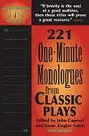 60 Seconds to Shine Volume 6 - 221 One-Minute Monologues from Classic Plays