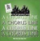 A Chorus Line - CD of Vocal Tracks & Backing Tracks