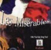 Les Miserables - 4 CDs of Vocal Tracks & Backing Tracks