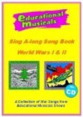 Sing A-Long Songbooks - War Songs I & II CD
