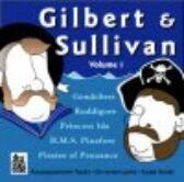 Gilbert & Sullivan - VOLUME ONE - CD of Vocal Tracks & Backing Tracks