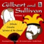 Gilbert & Sullivan - VOLUME TWO - CD of Vocal Tracks & Backing Tracks