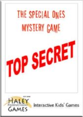 The Special Ones - A Mystery Game for Children Aged 12 and Under