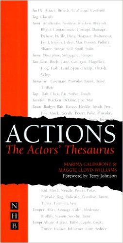 Actions - The Actors Thesaurus