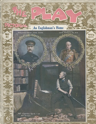 The Play Pictorial - No 81 - Vol XIII - 'An Englishman's Home' - vg