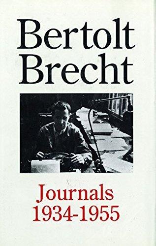 Bertolt Brecht - Journals 1934-1955