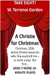 TAKE EIGHT! - 8 ONE-ACT Plays including A Christie for Christmas